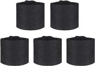 Oneday 植え袋 不織布ポット 1ガロン 高15x直径18CM(5個セット)