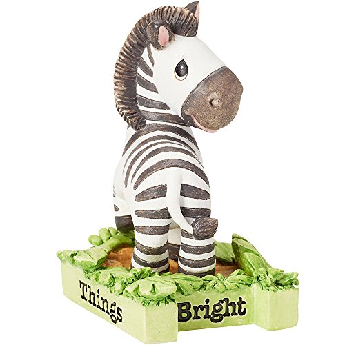 Precious Moments 162414  All Things Bright & Beautiful, Zebra, Resin Figurine