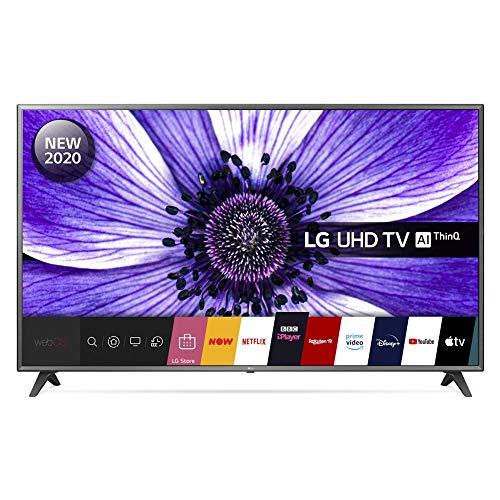LG 75UN70706LD 75 inch 4K UHD HDR Smart LED TV - Black colour (2020 Model) [Energy Class A]