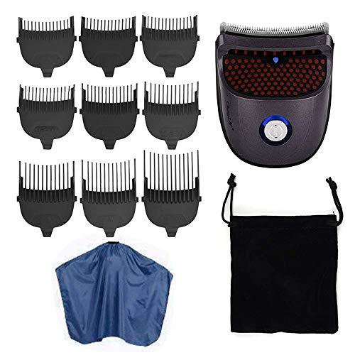 Mini Electric Hair Clipper Cordless snoer tondeuse Professional Barbershop Hair Cutting Machine met 9 Guide Combs Schort LOLDF1