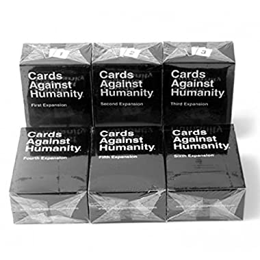 Cards Against Humanity , 1st, 2nd, 3th, 4th, 5th, 6th Expansions, US version