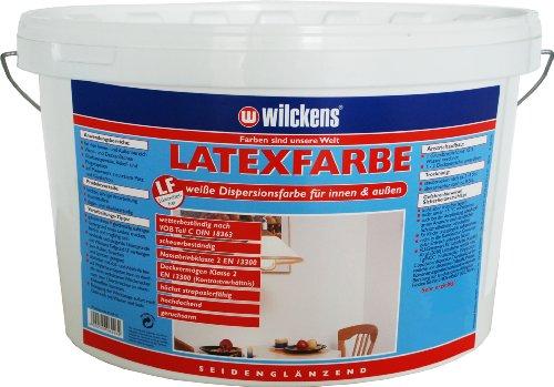 Wilckens Latexfarbe seidenglänzend, 2,5 L, weiß 13490200080
