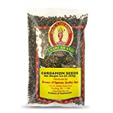 Laxmi Ground Cardamom Seeds, Traditional Indian Cooking Spices, House of Spices, Made Pure, Made Fresh, Tradition of Quality (3.5oz)