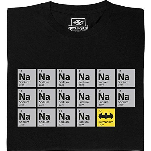 Batmanium - Geek Shirt für Computerfreaks aus fair gehandelter Bio-Baumwolle, Größe L