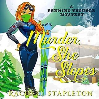 Murder, She Slopes audiobook cover art