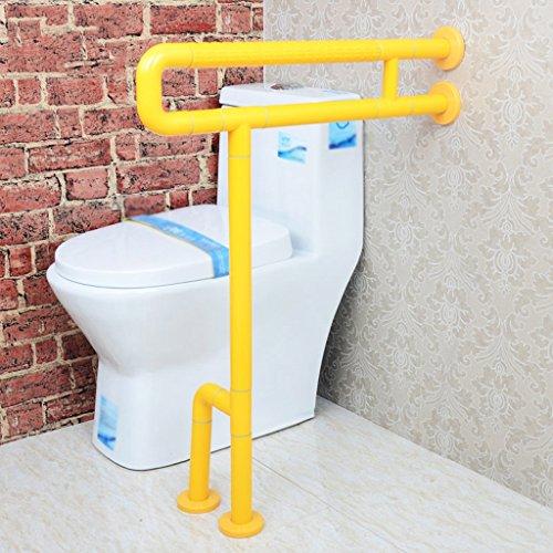 WEBO HOME- Nylon sans barrière avec pattes de jambe Vieil homme Handicapés Salle de bain Toilette Récipient Salle de bain Renforcement des mains courantes -Main courante de salle de bain