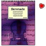 Serenade - die schönsten klassischen Werke für Violine und Klavier - eine Fundgrube für Liebhaber der klassischen Violinmusik - geeignet für Wettbewerbe - Notenbuch mit Notenklammer