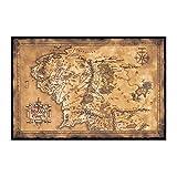 Filmposter The Hobbit, Der Herr der Ringe – Karte der