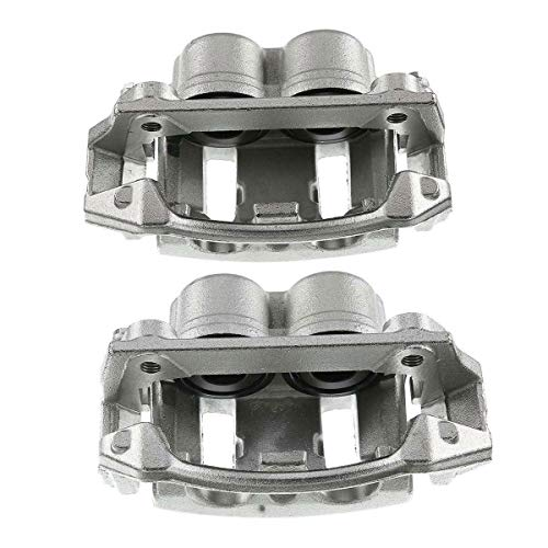 A-Premium Brake Caliper Assembly Compatible with Ford F-150 Lobo Lincoln Blackwood Front Side 2-PC Set