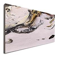 キャンバスに抽象的な手描きの油絵 油絵壁アート壁装飾 カラフルな抽象絵画ゴッホアート絵画 家族 年末年始やその他のホリデーに最適