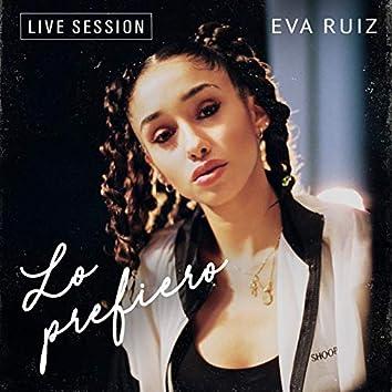 Lo prefiero (Live Session)