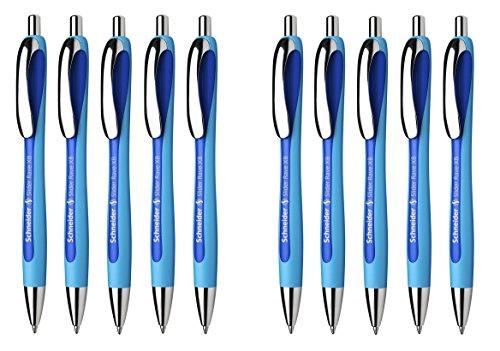 Schneider 132503 Slider Rave XB Kugelschreiber 10-er Packung blau