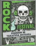 Cuaderno De Tablatura Guitarra: 7 tabs por página, Este libro es Ideal para músicos, estudiantes de guitarra, profesores de música   130 páginas   8.5 ...   Cuaderno tablatura con profesional portada