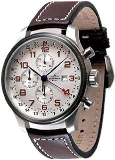 Zeno - Watch Reloj Mujer - OS Retro Cronógrafo GMT - 8753TVDGMT-f2