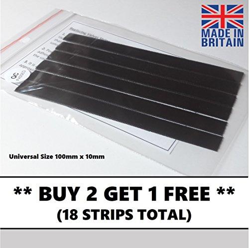 6 x Universal Okki Nokki, VPI, Moth, Nitty Gritty Samtlippen Plattenwaschmaschine Velvet Strips