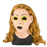 Realistic Female Woman Face Sissy Latex Mask Scarlet Human Face Party Fancy Dress Costume Mask