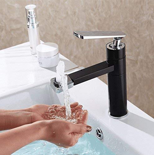 Alle koperen wastafel kranen draaien op warm en koud water sprinkler badkamer wastafel verhoging van de hoogte standaard
