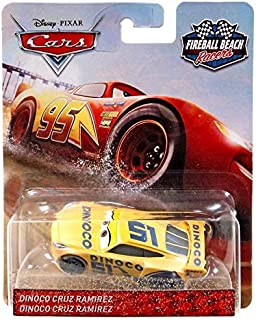 Dinoco Cruz Ramirez Fireball Beach Racer Die-cast Vehicle, 1:55 Scale
