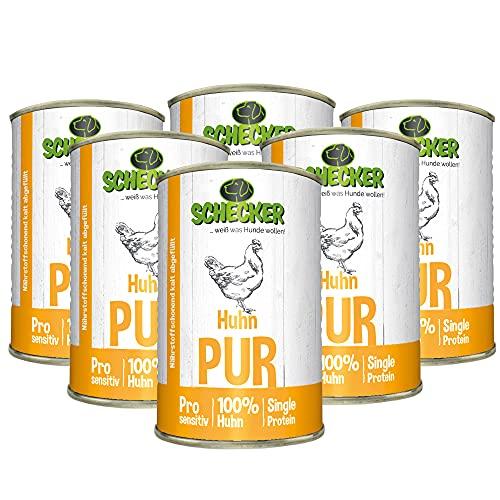 Nourriture au poulet Dogreform Pur - Sans céréales, sans gluten, à base de viande fraîche et d'abats précieux tels que foie, langue, estomac - Pas de compléments bon marché tels que le soja