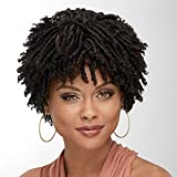 Indigo Wig by Especially Yours – Natural Short Wig with Trendy Spiral Curls, Bouncy Volume / Runway Shades of Black and Brown