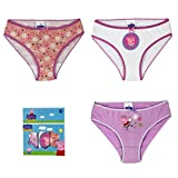 Peppa Pig 3 Pack De Childrens Underwear Briefs 6-8 Años