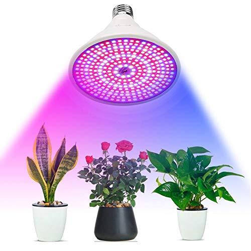 Favrison 100W E27 LED Grow Light Bulb with 290Pcs LEDs Full Spectrum Plants...
