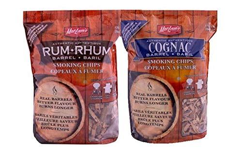 cognac Barrel Roken Chips & Rum Barrel Roken Chips