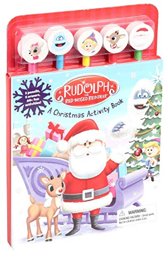 Rudolph the Red-Nosed Reindeer Pencil Toppers