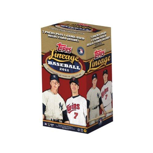 MLB 2011 Topps Lineage Blaster (7 Packs)