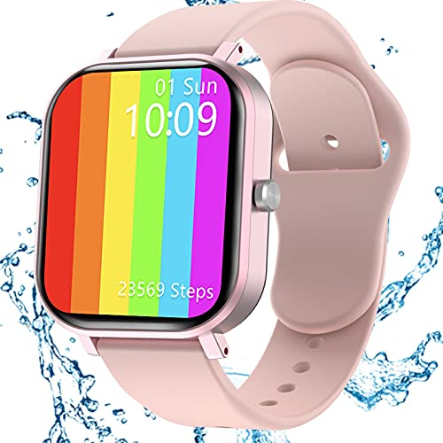 Smartwatch Donna, Jamswall Orologio Fitness, smartwatch donna tracker attività GPS impermeabile IP68, monitor del sonno, touch screen da 1,75 pollici
