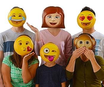 Best laughing emoji mask Reviews