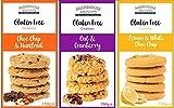 Selección de galletas sin gluten de Farmhouse Biscuits - Choc Chip & Avellana, Limón y Blanco Choc Chip y Avena y Arándano