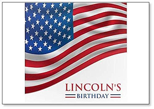 Linkoln's Verjaardag America Classic Koelkast Magneet