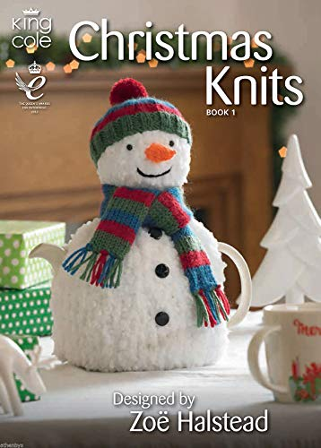 King Cole Christmas Knits Knitting Book Double Knitting Patterns