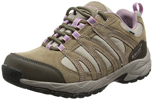 HI-TEC Women's Low Rise Hiking Boots, Beige Lt Taupe Grey Horizon 41, 36