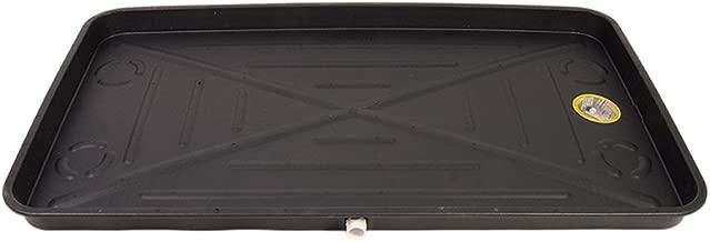 DiversiTech 6-2748L A/C Secondary Condensate Drain Pan, Outlet Long Side, Bottom 27