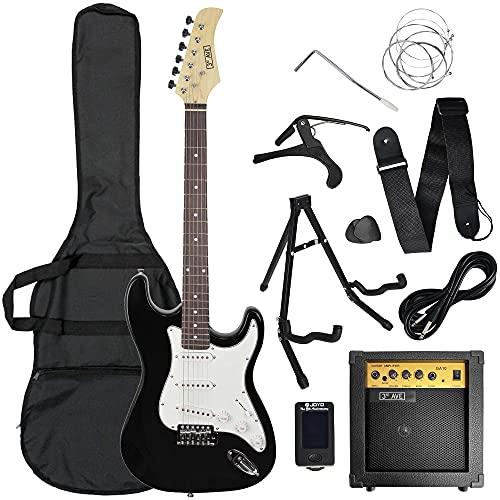 3rd Avenue Conjunto de guitarra eléctrica de iniciación de tamaño estándar con...
