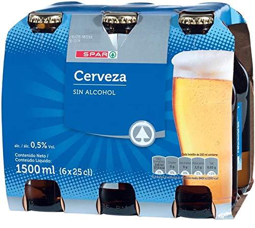 CERVEZA SPAR SIN ALCOHOL PACK-6