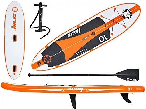 Z-Ray Windsurfing Inflatable Stand-Up Paddleboard Set