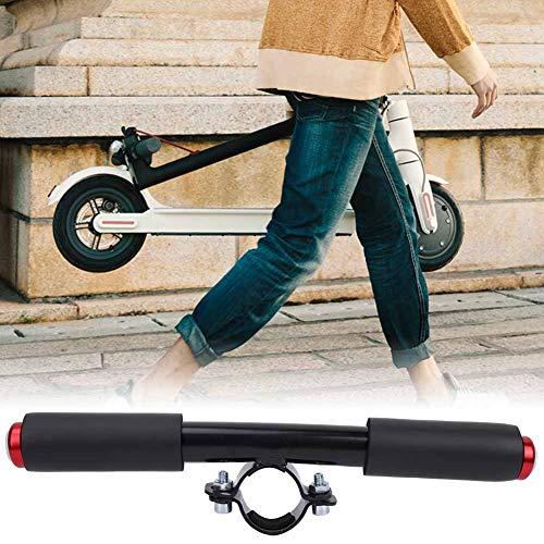 Changor Conveniente Scooter Niño Reposabrazos, Barra de Agarre Negra Barra 25cm Material de Calidad Hecho de Pantalla de Matrimonio y aleación de Aluminio