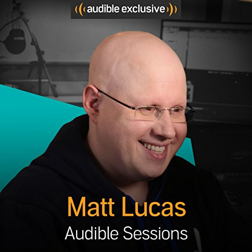 Matt Lucas audiobook cover art