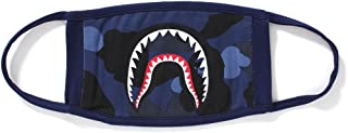 A Bathing Ape Bape Japan 1st Blue Camo Camouflage Shark Mouth Jaw Ski Paintball Face Mask Winter Sky Japan Milo New Camping First Aid