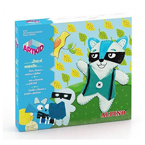Preisvergleich Produktbild Art Kid Mini Joey der Waschbär,  Basteln ab 4 Jahren