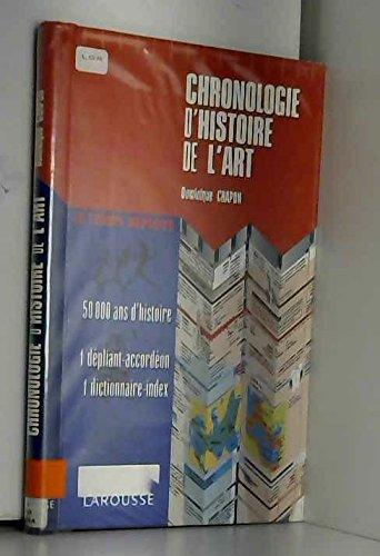 Chronologie d'histoire de l'art