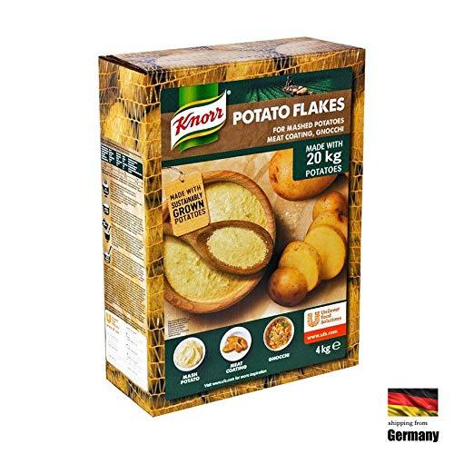 Knorr 4KG Kartoffel Püree Potato Flakes PURE Kartoffelpüree Vegan Glutenfrei