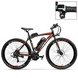LANKELEISI Vélo électrique de RS600 700C, Batterie de 36V 20Ah, Frein à...