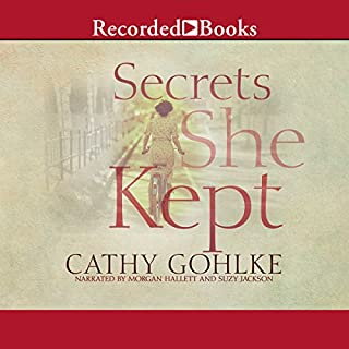 Secrets She Kept audiobook cover art
