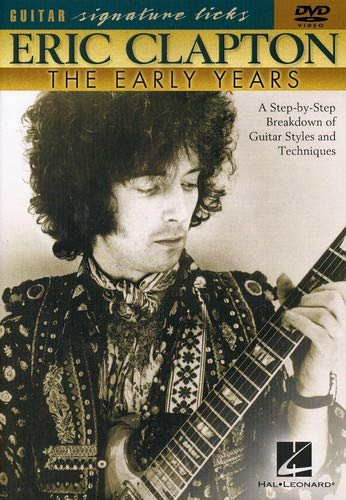 Eric Clapton - Early Years Guitar Signature Licks, DVD