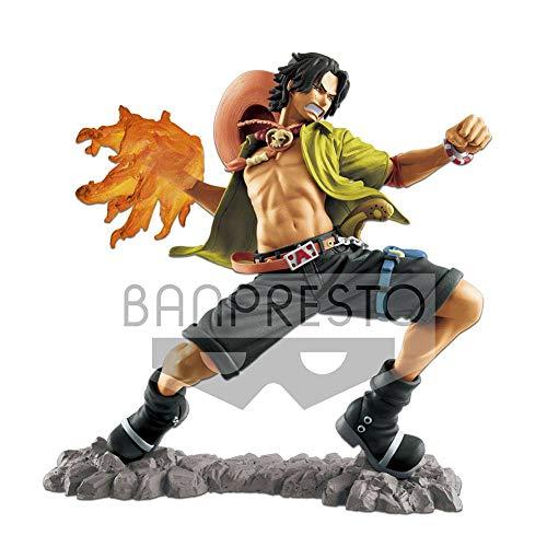 Bandai-20th Aniversario One Piece Estatua Portgas D Ace, Multicolor (BANP82592)