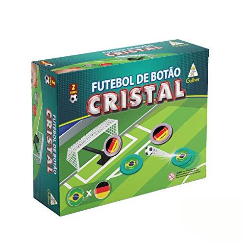 Futebol Botão Cristal Seleções Brasil X Alemanha Gulliver